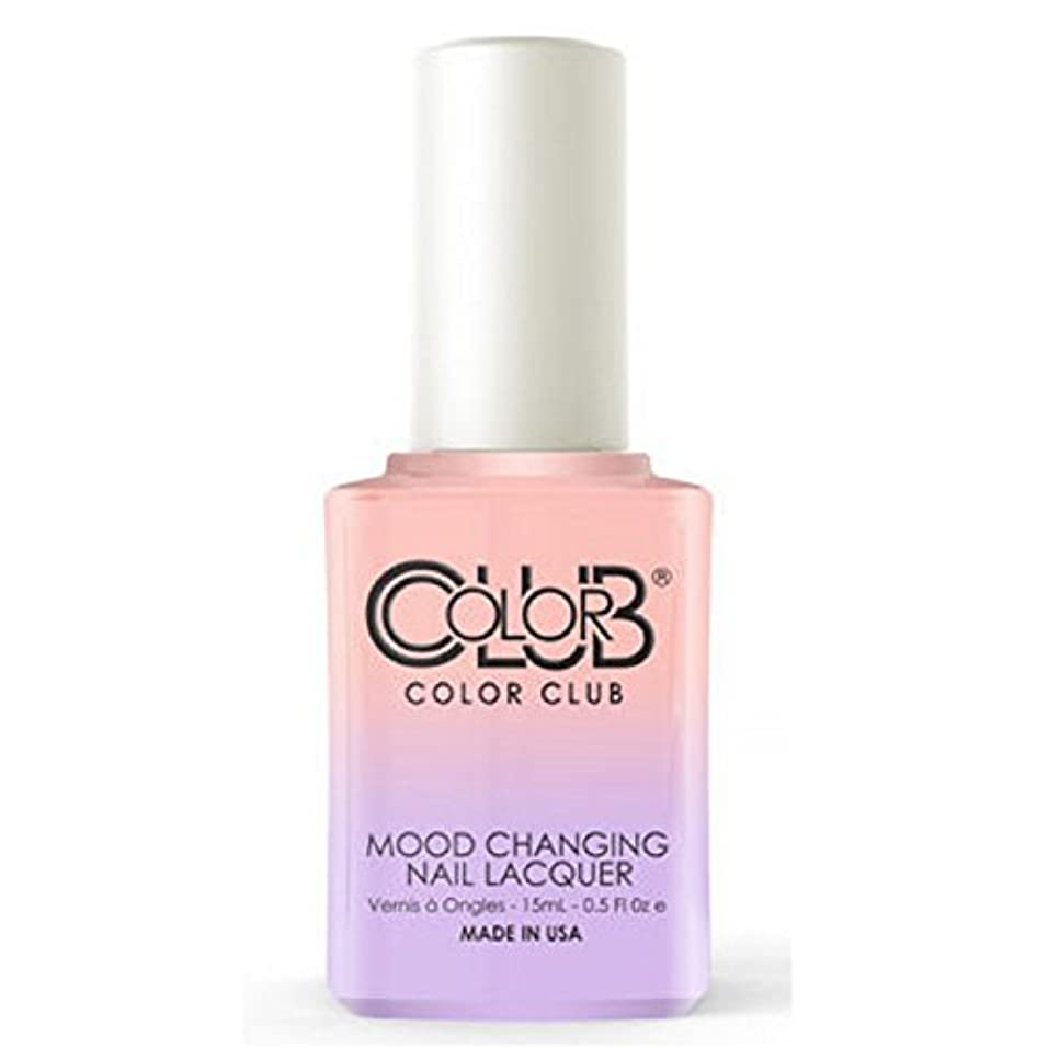 健康的誰の行為Color Club Mood Changing Nail Lacquer - Everything's Peachy - 15 mL / 0.5 fl oz