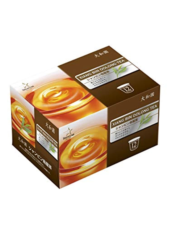 Kカップ 大和園 シャンピン烏龍茶 4g×12個入 キューリグコーヒーマシン専用 6箱セット 72杯分