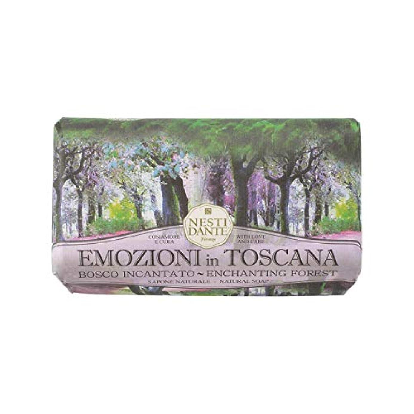 飢え解釈的花束Nesti Dante ネスティダンテ エモジオーニイントスカーナソープ ボスコ インカンタト 250g