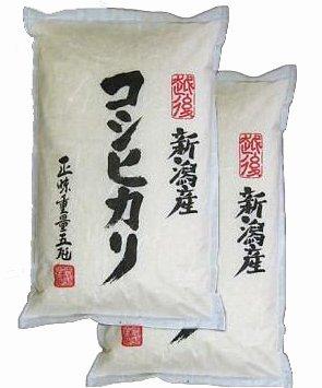 【精米】新潟辰巳屋 新潟県産(産地直送米) 白米 コシヒカリ 10kg(5kg×2袋)29年産