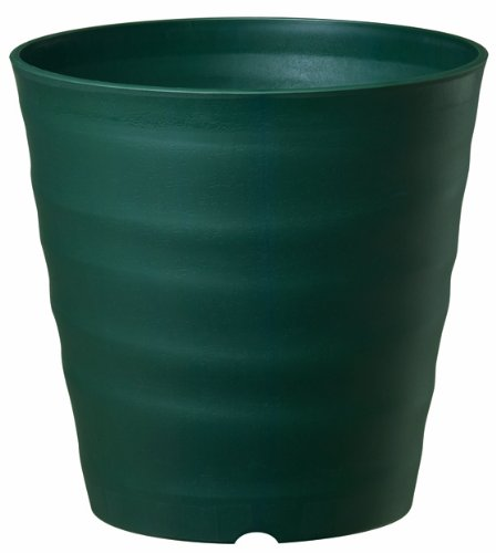 大和プラスチック 鉢・プランター フレグラーポット 21型 φ210×H210 ダークグリーン