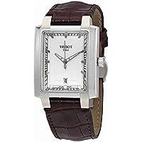 Tissot Men's T0615101603100 Year-Round Analog Quartz Brown Watch