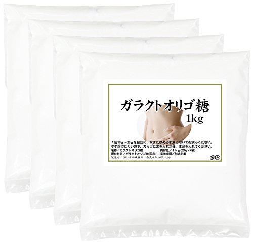 自然健康社 ガラクトオリゴ糖 1kg(250g×4袋) 密封袋入り