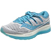 Saucony Triumph ISO 5 Women's Running Shoes, White/Blue