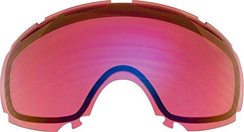 自社製 オークリー CANOPY ゴーグル用交換レンズ LIGHT ROSE MIRROR