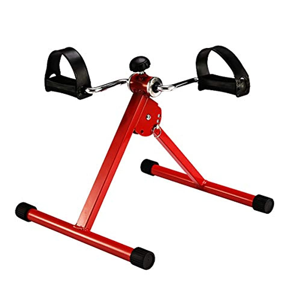 ターゲットヤング無力ペダルエクササイザー、ホーム理学療法フィットネスミニバイク高齢者身体障害者医療リハビリテーション体操カーディオフィットネストレーナー|ホームトレーナー|スピンエクササイズバイク,A