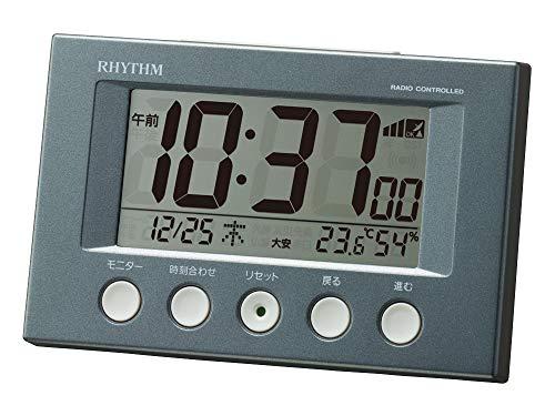 リズム時計工業 目覚まし時計 8RZ166SR71 B07PGCFHVZ 1枚目