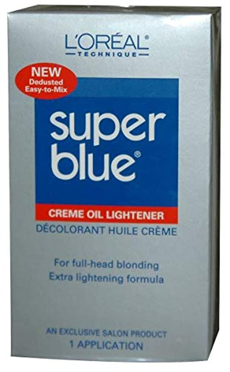 聖域の配列とげL'Oreal Technique - Super Blue - Creme Oil Lightener KIT