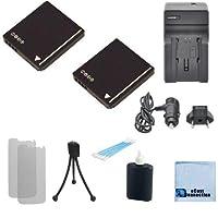 2dmw-bcf10Li - Ion充電式カメラ電池+車/ホーム充電器for Panasonic Lumix DMC - dmc-fs7、dmc-fs8、dmc-ft1、dmc-ft2、dmc-ft3、ft4、dmc-fx25、dmc-fx40、dmc-fx48、fx550カメラ& More +アクセサリー| cga-s/106b