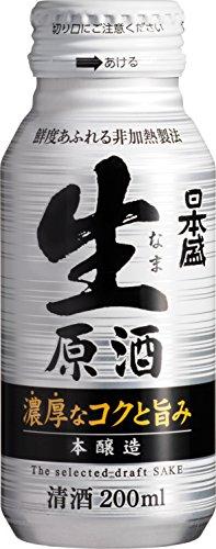 日本盛 生原酒 本醸造 ボトル缶 [ 日本酒 兵庫県 200mlx30本 ]