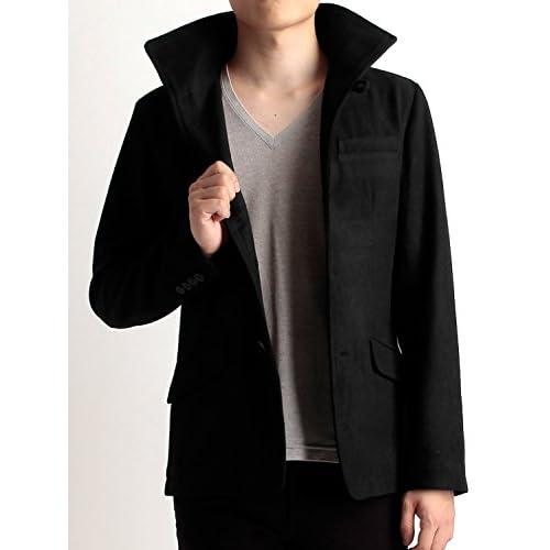 (ラフタス)Rafftas メルトン イタリアンカラー ジャケット XL サイズ ブラック 秋 冬 秋冬用 アウター メンズ mens