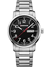 e1917d36d6 [ウェンガー]WENGER 腕時計 10気圧防水 ミリタリー デイデイト ...