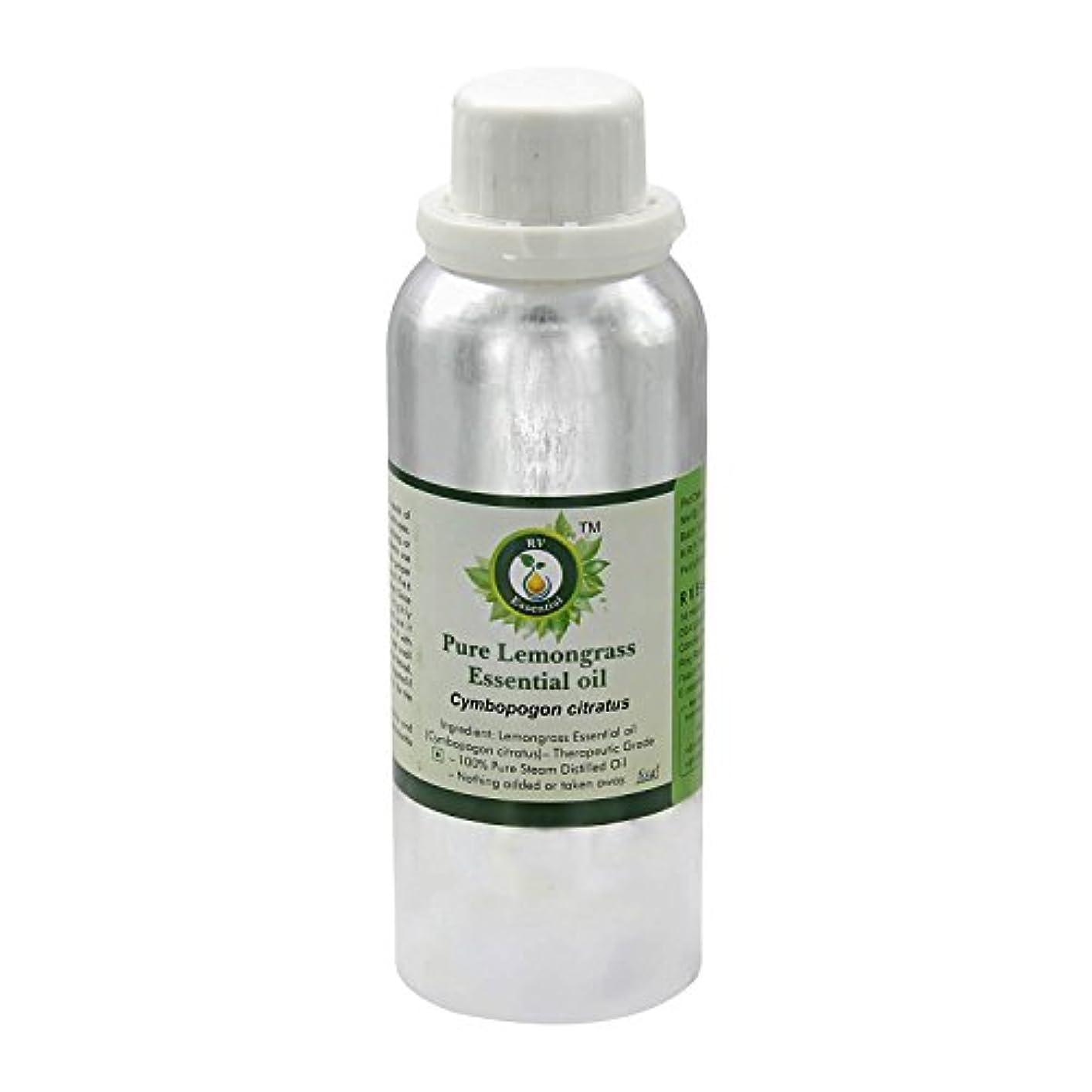 破壊的最愛のハチR V Essential ピュアレモングラスエッセンシャルオイル300ml (10oz)- Cymbopogon Citratus (100%純粋&天然スチームDistilled) Pure Lemongrass Essential...