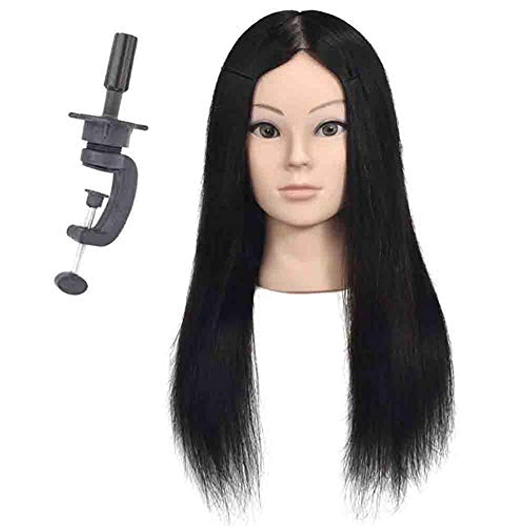 ブラウスジョージエリオット予知リアルヘアスタイリングマネキンヘッド女性ヘッドモデル教育ヘッド理髪店編組ヘア染色学習ダミーヘッド