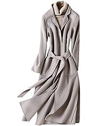 秋冬レディースファッション 羊毛ラシャコート ロングコート カジュアル カシミヤコート 通勤 ファション 全6色
