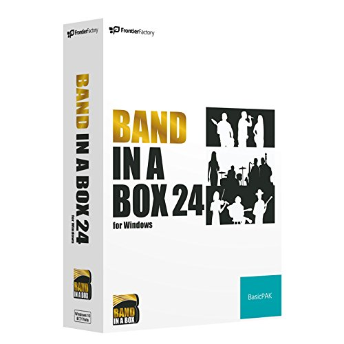 PG Music Band-in-a-Box 24 for Windows BasicPAK