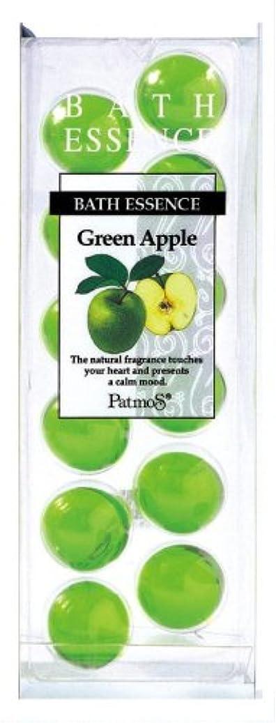 ことわざクルー備品パトモス バスエッセンス 12P グリーンアップル