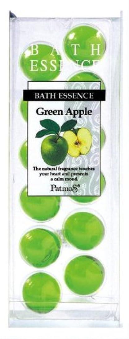 やろう狭い器用パトモス バスエッセンス 12P グリーンアップル