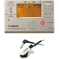 ヤマハ YAMAHA チューナーメトロノーム TDM-700G チューナー用マイクロフォン TM-30WH セット