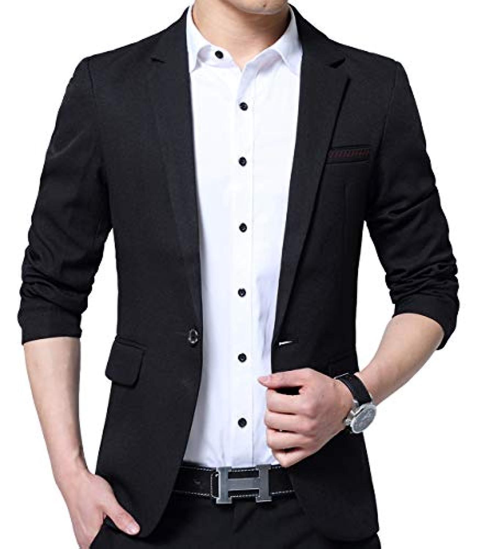 ODFMCE ジャケット メンズ スーツ テーラードジャケット カジュアル ビジネス スリム 大きいサイズ
