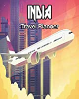 India Travel Planner: Travelers Journal and Diary Composition Notebook