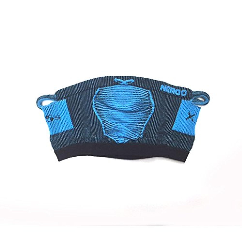 NAROO MASK スポーツ用フェイスマスク X5S (BLACKBLUE) [並行輸入品]