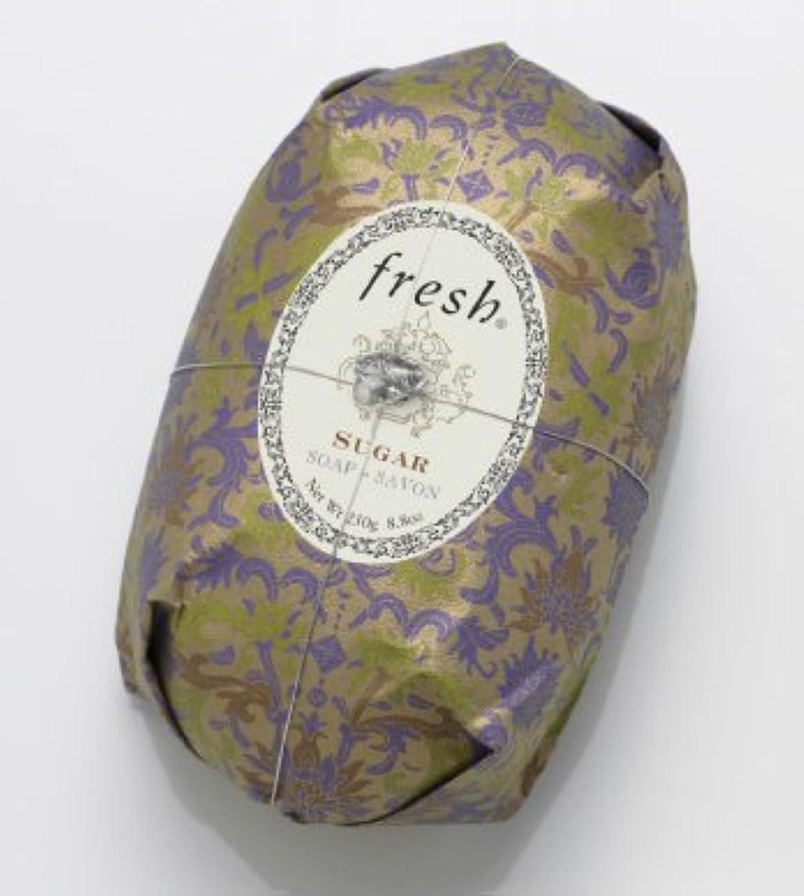 パフ変形新しさFresh SUGAR SOAP (フレッシュ シュガー ソープ) 8.8 oz (250g) Soap (石鹸) by Fresh