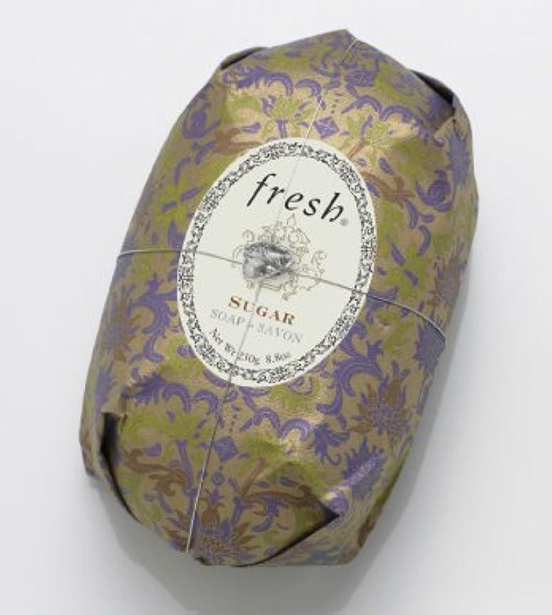 コンデンサー古い終点Fresh SUGAR SOAP (フレッシュ シュガー ソープ) 8.8 oz (250g) Soap (石鹸) by Fresh