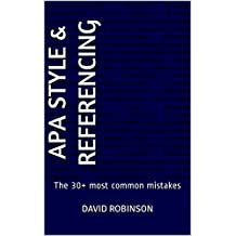 APA Style & Referencing: The 30+ most common mistakes