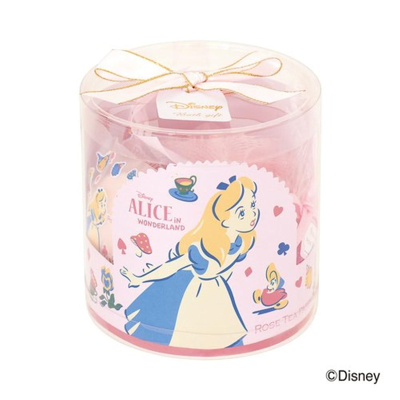 トピックある伝統的ディズニーフレグランスコレクション バスギフト4点セット アリス ローズティーパーティー(爽やかでやさしいバラの香り)