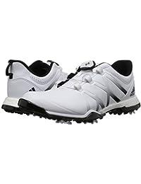 (アディダス) adidas レディースゴルフシューズ?靴 adiPower Boost Boa Footwear White/Core Black/Core Black 8 (25cm) B - Medium