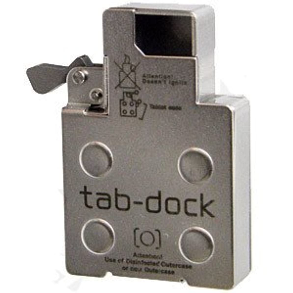 最愛の挑むエージェントタブドック ジッポ ライター用 インナー取替え型 フリスクケース(ピルケース)タブレットケース tab-dock zippoライター用 ケースセット