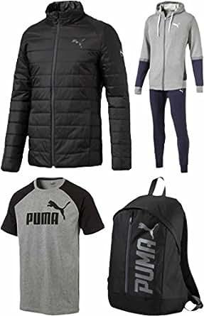 (プーマ)PUMA メンズ 2017年 中綿ジャケット スウェット上下セットが入る スポーツ福袋【2017puma-ms】 M ワンカラー