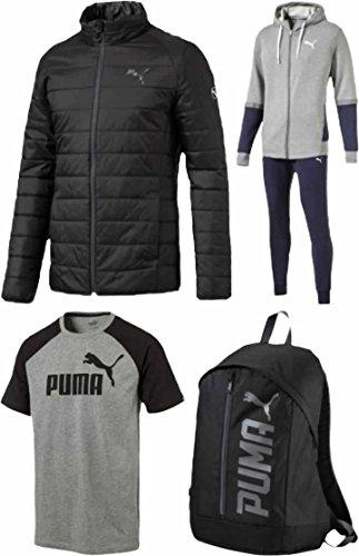 (プーマ)PUMAメンズ2017年中綿ジャケットスウェット上下セットが入るスポーツ福袋【2017puma-ms】XLワンカラー