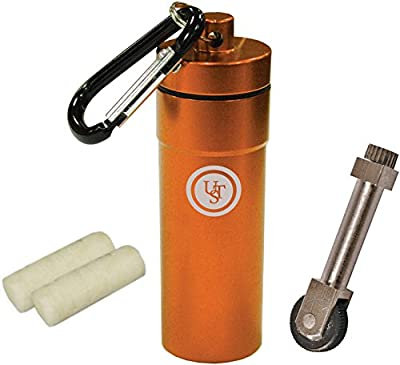 Ultimate Survival Technologies Stoke Kit w/Micro SparkWheel &Tinder Fire Starter