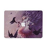 AQYLQ MacBook Air 13インチハードケース A1369 / A1466用 スムーズタッチ ウルトラスリム マットプラスチックラバーコーティング保護シェルカバー GLBY-1 カラフルフラワー New Macbook Pro 13 (A1706/A1708/A1989) H-Npro 13 -GLBY-5