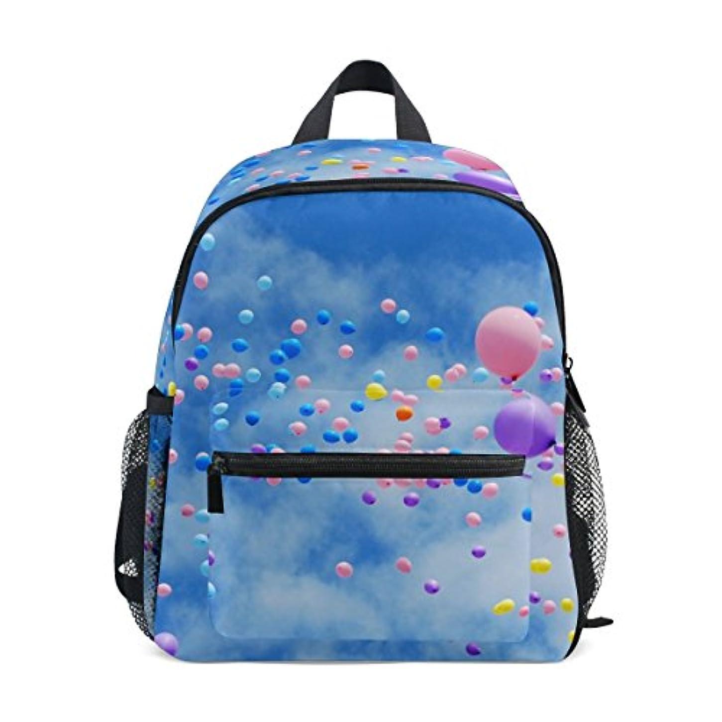 好ましい織機すべきSoreSore(ソレソレ)リュック キッズ 女の子 リュックサック 子供 おしゃれ 男の子 通学 大容量 こども かわいい 小学生 アウトドア 登山 旅行 プレゼント ギフト 贈り物 空 気球 雲 ブルー 青
