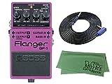 BOSS Flanger BF-3 + 3m ギターケーブル VOX VGS-30+クロス セット