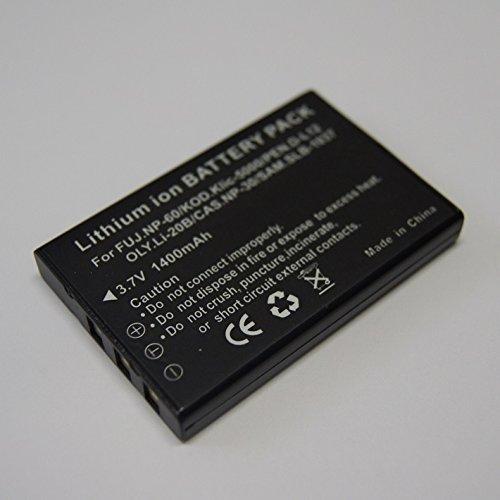 OLYMPUS Li-20B/CASIO NP-30/PENTAX D-L12/ FUJIFILM NP-60 対応互換バッテリー&急速充電器セット☆AZ-1/AZ-2