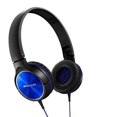 Pioneer SE-MJ522-L ヘッドフォンダイナミックステレオサウンド40ミリメートル SEMJ522 ブルー [並行輸入品]