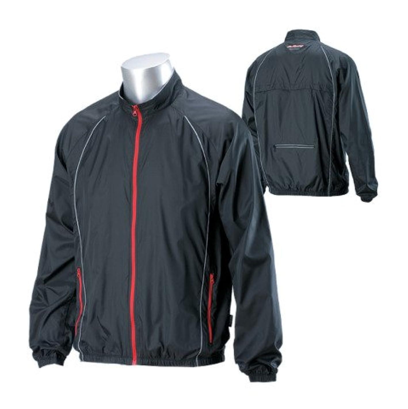 スナップ腐食する偽装するナンカイ(NANKAI) SDW-439 ウインドプルーフジャケット 防風ジャケット ブラック LL W43911LL