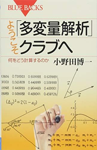 ようこそ「多変量解析」クラブへ 何をどう計算するのか (ブルーバックス)の詳細を見る