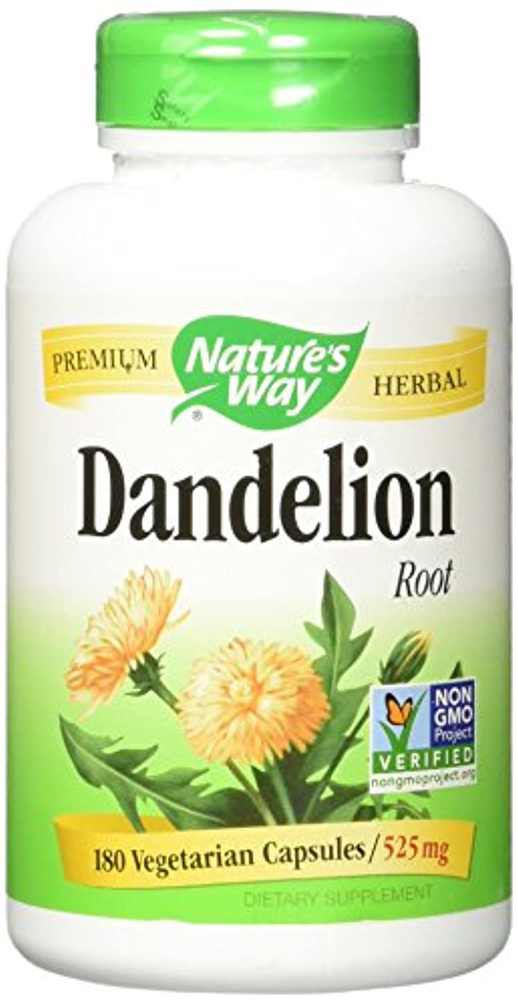 イタリアののヒープ無人NATURE'S WAY DANDELION ROOT, 180 VCAP by Nature's Way