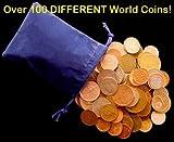 Over 100 DIFFERENT World Coins 0.5kg Grab Bag