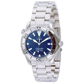 OMEGA (オメガ) 腕時計 シーマスターダイバー 2263.80 ブルー メンズ (36mmサイズ) [並行輸入品]