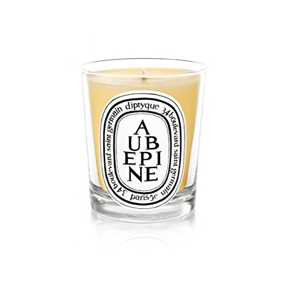 同意ガウンどんよりしたDiptyque Candle Aub?pine / Hawthorn 190g (Pack of 6) - DiptyqueキャンドルAub?pine/サンザシ190グラム (x6) [並行輸入品]