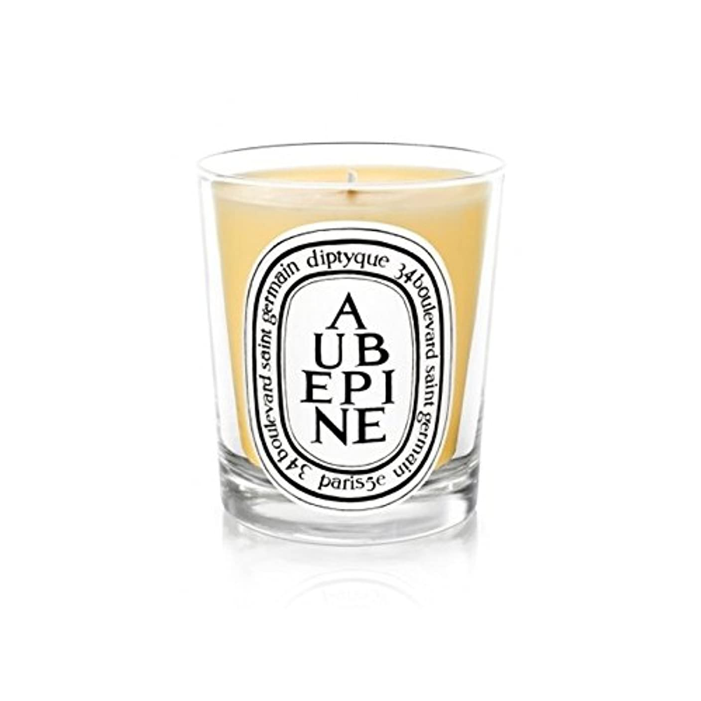 フィクション地上のバイパスDiptyque Candle Aub?pine / Hawthorn 190g (Pack of 6) - DiptyqueキャンドルAub?pine/サンザシ190グラム (x6) [並行輸入品]