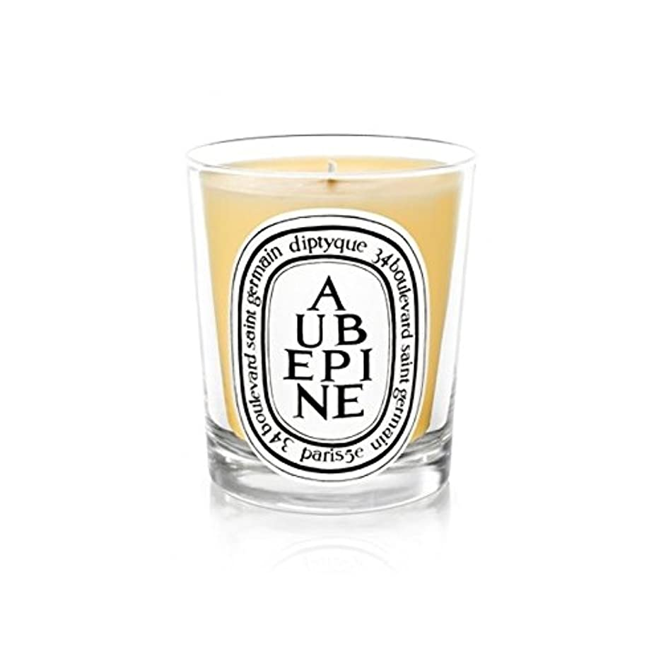 一緒にファンネルウェブスパイダーショッキングDiptyque Candle Aub?pine / Hawthorn 190g (Pack of 6) - DiptyqueキャンドルAub?pine/サンザシ190グラム (x6) [並行輸入品]