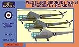 LFモデル 1/72 イギリス空軍 ウェストランド・シコルスキー WS-51 ドラゴンフライ HC.Mk.2/4 プラモデル LFMPE7234