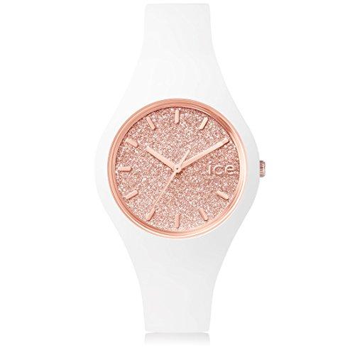 [アイスウォッチ]ICE-WATCH 腕時計 アイスグリッター Ice GLITTER スモール ホワイトローズゴールド ICE.GT.WRG.S.S.15 [正規輸入品]